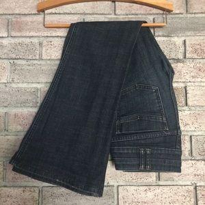 GAP petite bootcut jeans